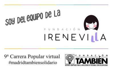 Irene Villa y su Fundación participan un año más en la Carrera de la Fundación También