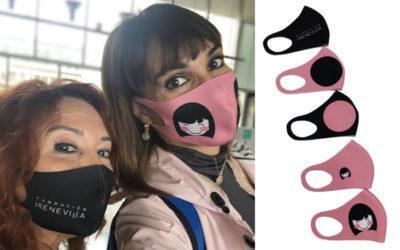 """""""Las Antonias"""" crean una edición solidaria de mascarillas a favor de la Fundación Irene Villa"""