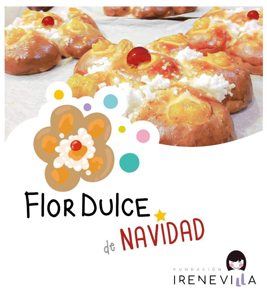 Reservas y compras de la Flor Dulce de Navidad de la Fundación Irene Villa.