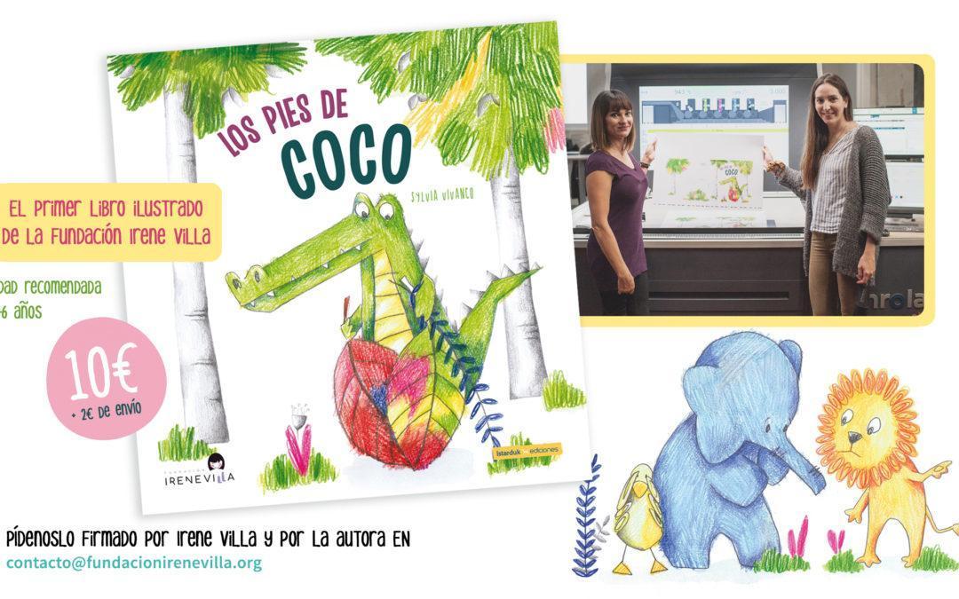 Los pies de coco, el primer cuento ilustrado de la Fundación Irene Villa